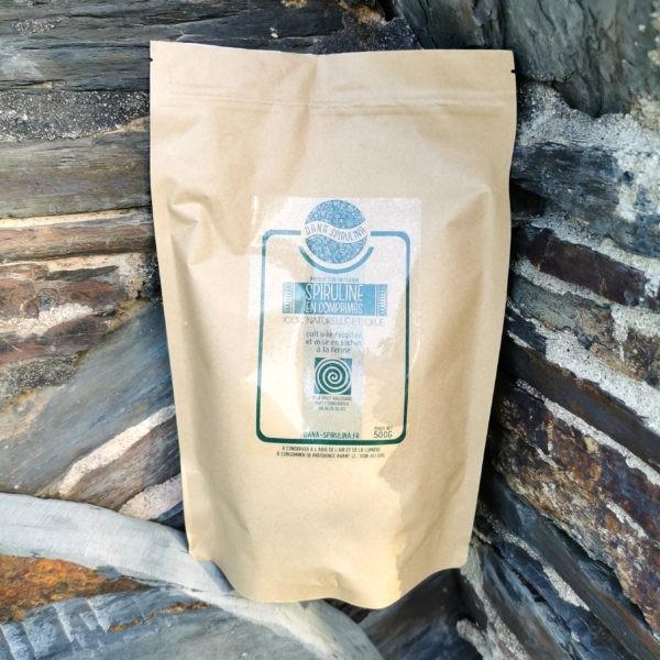 1 sachet de 500 grs de spiruline en comprimés