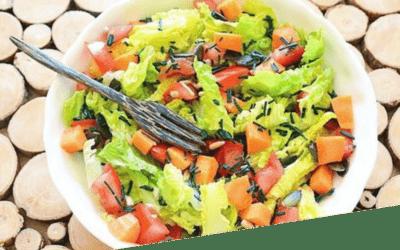 Salade fraîcheur à la Spiruline